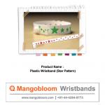Plastic Wristband (Star Patern)
