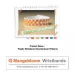 Plastic Wristband (checkerboard)