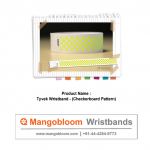 Tyvek Wristband (Checkerboard)