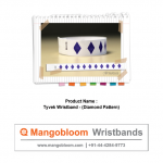 Tyvek Wristband (Diamond Pattern)