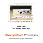 Tyvek Wristband (Stars Pattern)