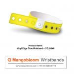 Vinyl Edge Glow-Wristband (Yellow)